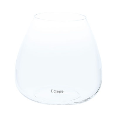 Do!aqua Plant Glass Oval17 (H17cm)